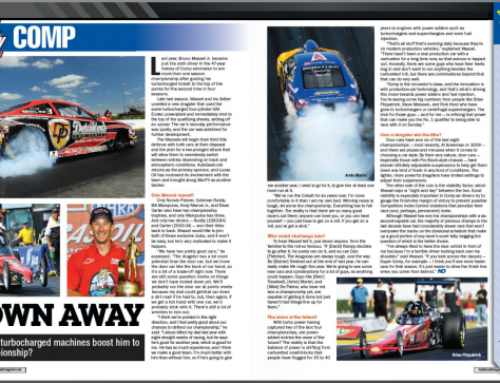 BLOWN AWAY – National Dragster, Issue 3 – Volume 54 – February 8th, 2013